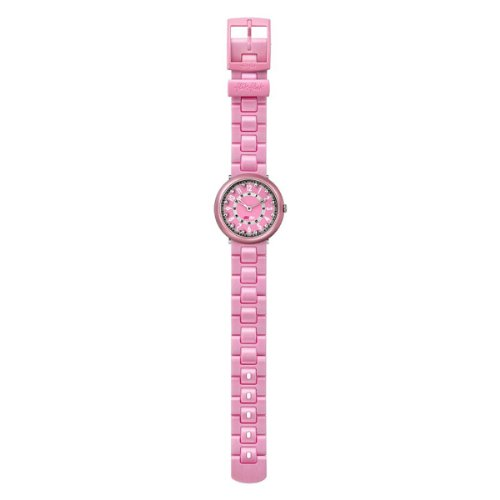 Flik Flak Watches Funny Hours Full Size Girls SOLA BABY PINK Analog Silikon FCN028