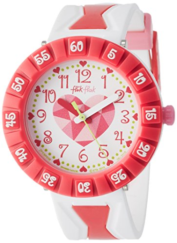 Flik Flak Get It In Pink Kinderuhr fuer Maedchen FCSP036