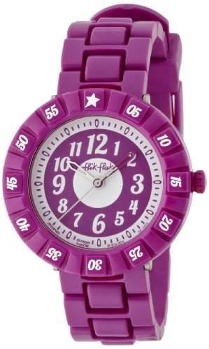 Flik Flak Watches Maedchen-Armbanduhr Analog Quarz Plastik FCSP003