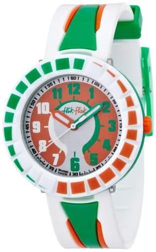 Flik Flak All Around Green & Orange Kinderuhr FCSP007