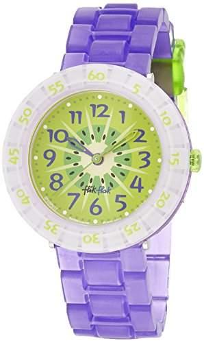 Flik Flak FCSP017 KIWI SHAKE Uhr Maedchen Kinderuhr Kunststoff 30m Analog violett