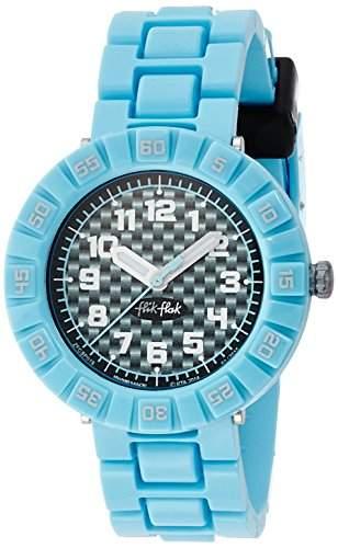 Flik Flak FCSP019 SERIOUSLY BLUE Uhr Junge Kinderuhr Kunststoff 30m Analog blau