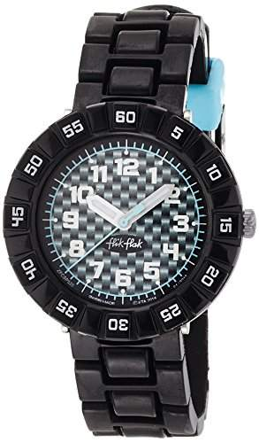 Flik Flak FCSP020 SERIOUSLY BLACK Uhr Junge Kinderuhr Kunststoff 30m Analog schwarz