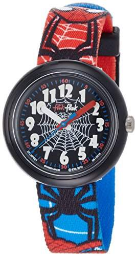 Flik Flak Spiderman Kinderuhr FLNP021