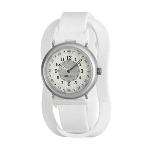 Flik Flak Shaped On White Limited Maedchen Kinder Uhr FPN047