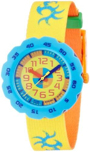Flik Flak Pres-Cool Boy in Yellow Kinderuhr FPSP001