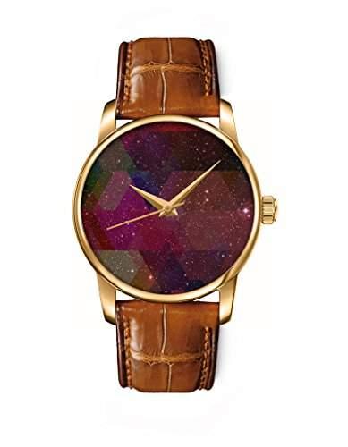 OOFIT -Armbanduhr Analog Quarz GOLD-30-BAMBOO-BROWN-RO27+271