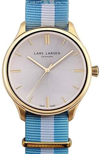 Lars Larsen Philip MenHerren Armbanduhr Analog Textil Zehensteg 120GBCN