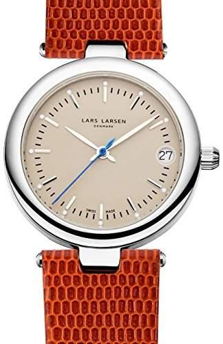 Lars Larsen Viviann WomenAnalog Quarz Leder braun KL101 126SCGL