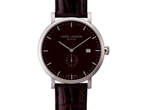 Lars Larsen Swiss Made Herrenarmbanduhr 131SBBL