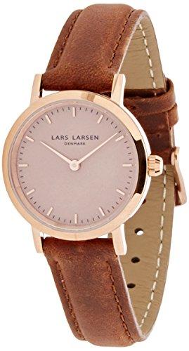 Lars Larsen Damen Armbanduhr 124RRBLL