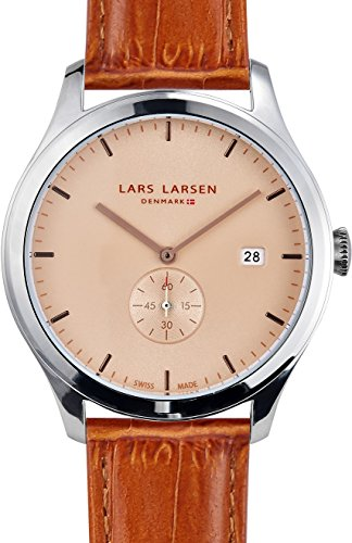 Lars Larsen unisex Armbanduhr Ayo Analog Quarz Leder 129SCLL