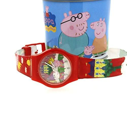 ORIGINAL PEPPA PIG Uhren Rot - DSPPA