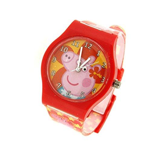 ORIGINAL PEPPA PIG Uhren Rot DSPPR