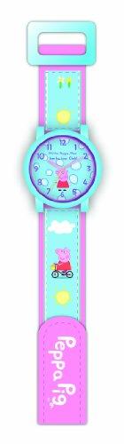 Peppa Pig Unisex Armbanduhr Analog Quarz Nylon 01412