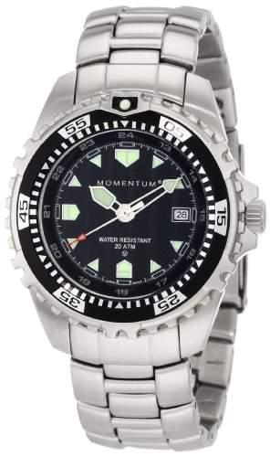 Momentum Herren-Armbanduhr XL M1 Analog Quarz Edelstahl 1M-DV00B0-AC