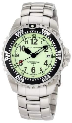 Momentum Herren-Armbanduhr XL M1 Analog Quarz Edelstahl 1M-DV00L0-AC