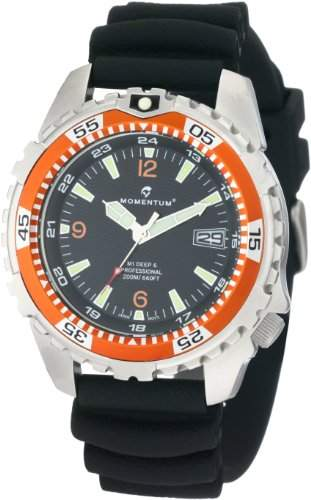 Momentum Herren-Armbanduhr XL M1 DEEP 6 Analog Quarz Plastik 1M-DV06O1B