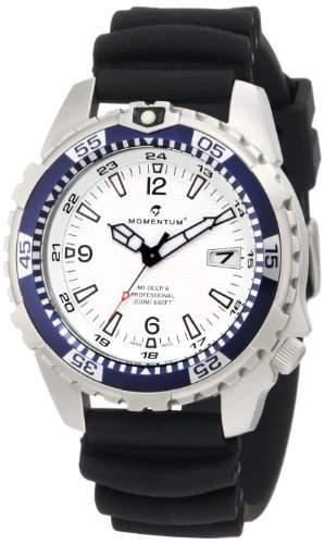 Momentum Herren-Armbanduhr XL M1 DEEP 6 Analog Quarz Plastik 1M-DV06W1B