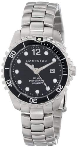 Momentum Damen-Armbanduhr XS M1 MINI Analog Quarz Edelstahl 1M-DV07BB0