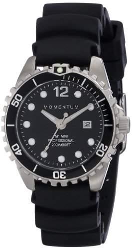 Momentum Damen-Armbanduhr XS M1 MINI Analog Quarz Kautschuk 1M-DV07BB1B