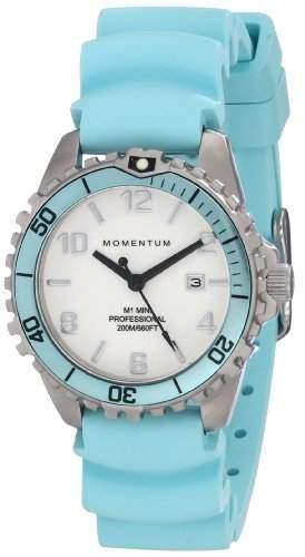 Momentum Damen-Armbanduhr XS M1 MINI Analog Quarz Kautschuk 1M-DV07WA1A