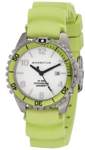Momentum Damen-Armbanduhr XS M1 MINI Analog Quarz Kautschuk 1M-DV07WL1L