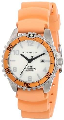 Momentum Damen-Armbanduhr XS M1 MINI Analog Quarz Kautschuk 1M-DV07WO1O