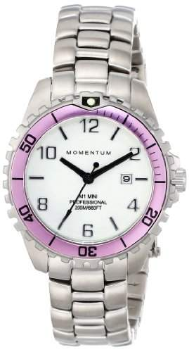Momentum Damen-Armbanduhr XS M1 MINI Analog Quarz Edelstahl 1M-DV07WR0