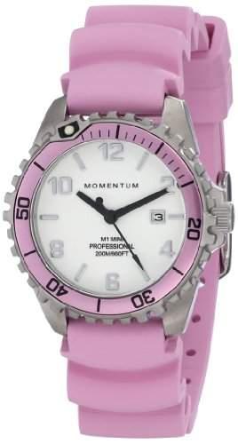 Momentum Damen-Armbanduhr XS M1 MINI Analog Quarz Kautschuk 1M-DV07WR1R