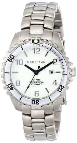 Momentum Damen-Armbanduhr XS M1 MINI Analog Quarz Edelstahl 1M-DV07WS0