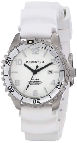 Momentum Damen-Armbanduhr XS M1 MINI Analog Quarz Kautschuk 1M-DV07WS1W
