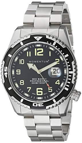 Momentum Herren-Armbanduhr XL M50 MARK II Analog Quarz Edelstahl 1M-DV52B0