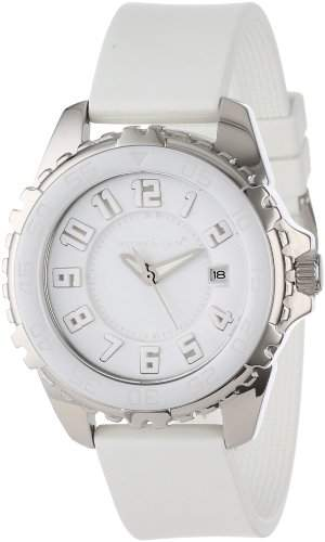Momentum Damen-Armbanduhr DEEP 6 CERAMIC NARWHAL Analog Quarz Kautschuk 1M-DV63W1W