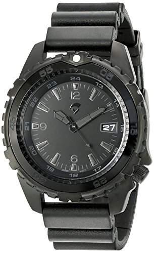 Momentum Herren-Armbanduhr XL DEEP 6 VISION Analog Kautschuk 1M-DV66B8B