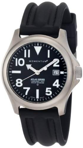 Momentum Herren-Armbanduhr XL ATLAS Analog Quarz Kautschuk 1M-SP00B1