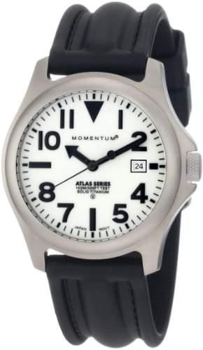 Momentum Herren-Armbanduhr XL ATLAS Analog Quarz Kautschuk 1M-SP00W1
