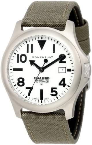 Momentum Herren-Armbanduhr XL ATLAS Analog Quarz Textil 1M-SP00W6G