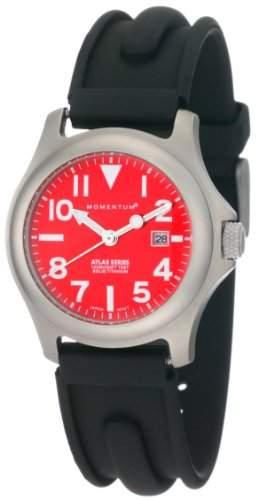 Momentum Damen-Armbanduhr XS ATLAS Analog Quarz Kautschuk 1M-SP01R1