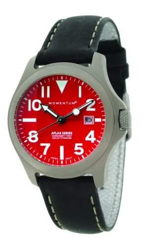 Momentum Damen-Armbanduhr XS ATLAS Analog Quarz Leder 1M-SP01R2B