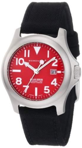 Momentum Damen-Armbanduhr XS ATLAS Analog Quarz Textil 1M-SP01R6B