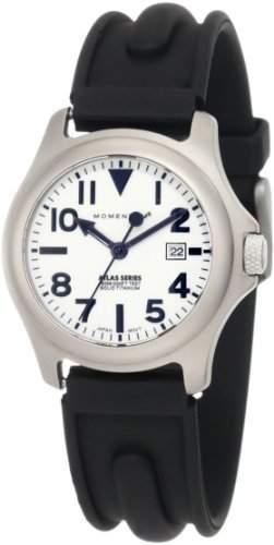 Momentum Damen-Armbanduhr XS ATLAS Analog Quarz Kautschuk 1M-SP01W1