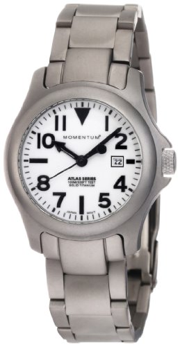 Momentum Damen Armbanduhr XS ATLAS Analog Quarz Titan 1M SP01W0