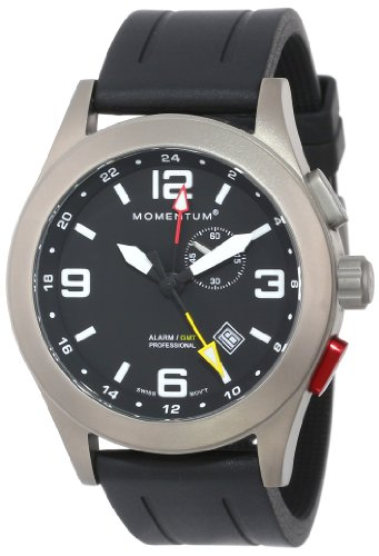 Momentum XL VORTECH GMT Analog Quarz Leder 1M SP58B1B