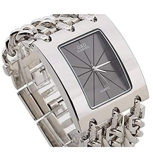 SSITG Damen Uhr Armbanduhr Armkette Quarz Uhren Armband Uhr Watch Geschenk Gift