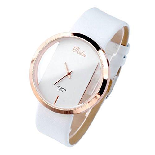 SSITG Armbanduhr Uhr Transparent Armbanduhr Paaruhren Quarzuhr Candycolor Neu Trend 16
