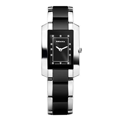 Rodania Swiss Made Damen Multi Color Ã‹delstahl Armband & Gehäuse Uhr 24573-48