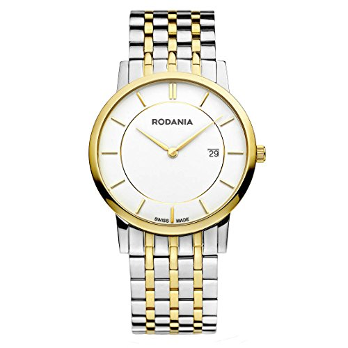 Rodania Elios Damen 38mm Multi Color delstahl Armband Gehaeuse Uhr 25045 80