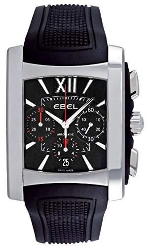Ebel Brasilia Gents Stainless Steel Mens Chronograph Watch Calendar 9126m5253br35606 1215783