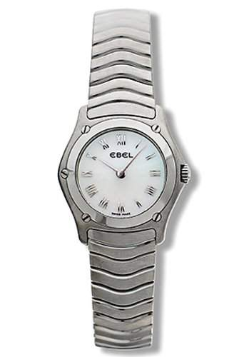 Ebel Damen-Armbanduhr CLASSIC WAVE Analog Quarz 9157F11-9225